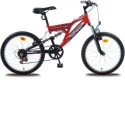 """OLPRAN Buddy 20"""", Bicykel, červená"""