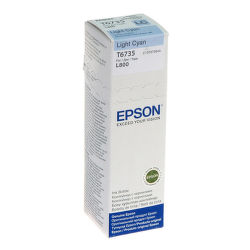 EPSON T6735 light cyan (70ml pre sériu L) - atrament