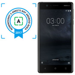 Nokia 3 Dual SIM čierny