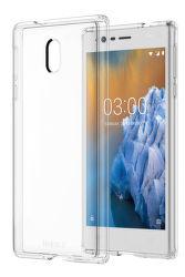 Nokia Hybrid Crystal Case pre Nokia 3, transparentné