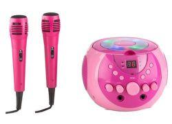 Auna SingSing ružový karaoke systém
