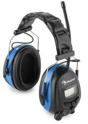 Auna Jackhammer 2.0 modré ochranné slúchadlá s rádiom