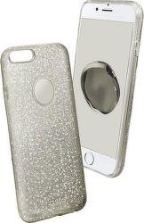 SBS Sparky Glitter puzdro pre iPhone 7 Plus/8 Plus, strieborná
