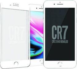 PanzerGlass CR7 tvrdené sklo pre iPhone 8/7, biela