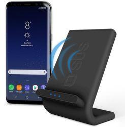 SBS Qi Fast Charge bezdrôtový nabíjací stojan, čierny