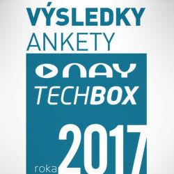 Výsledky ankety NAY TECHBOX roka 2017