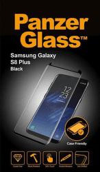 PanzerGlass Case Friendly tvrdené sklo pre Samsung Galaxy S8 Plus, čierna