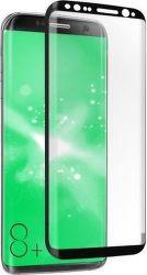 SBS tvrdené 4D sklo pre Samsung Galaxy S8 Plus, čierna