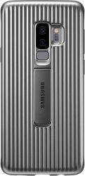 Samsung Protective Standing puzdro pre Galaxy S9+, strieborné