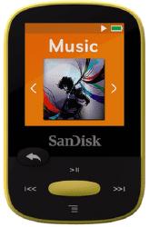SanDisk Sansa Clip Sports 8 GB žltý