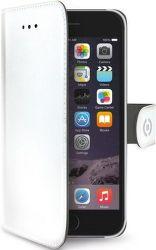 Celly Wally knižkové puzdro pre iPhone 6/6S, biela