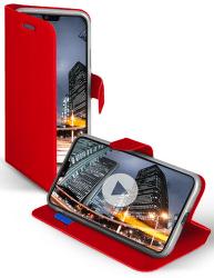 SBS Book Sense puzdro pre Huawei P20 Lite, červená