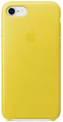 Apple kožený kryt pre iPhone 8 a 7, jarno žltý