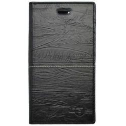 Mobilnet Luxury knižkové puzdro pre iPhone 8+, čierne