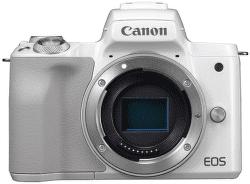 Canon EOS M50 telo biele