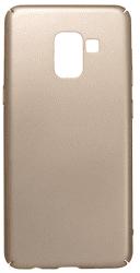 Mobilnet plastové puzdro pre Galaxy A8 2018, zlaté
