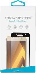 Epico 2,5D tvrdené sklo pre Galaxy A5 2017, čierne