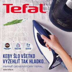 Žehliaca doska ako darček k parným generátorom Tefal