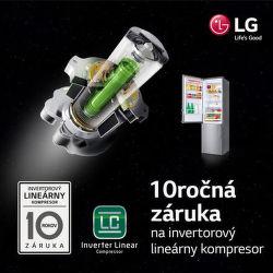 10-ročná záruka na kompresor chladničiek LG