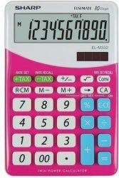 Sharp EL-M332BPK (ružová) - Stolová kalkulačka