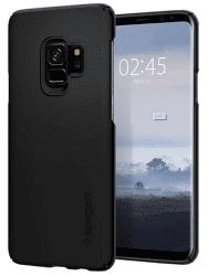 Spigen Thin Fit puzdro pre Samsung Galaxy S9, čierne