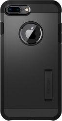 Spigen Tough Armor 2 puzdro pre Apple iPhone 7+/8+, čierne