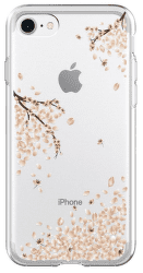 Spigen Liquid Crystal puzdro pre Apple iPhone 7/8, transparentné s motívom