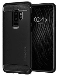 Spigen Rugged Armor puzdro pre Samsung Galaxy S9+, čierne