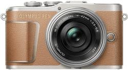 Olympus E-PL9 hnedý