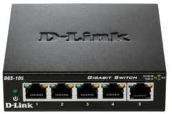 D-Link DES-105 - 100Mb 5-LAN switch