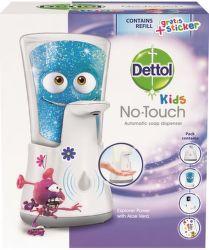 Dettol Kids bezdotykový dávkovač s mydlom Dobrodruh (250ml)