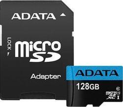ADATA Premier microSDXC 128GB 85MB/s UHS-I U1 + adaptér
