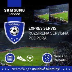 Rozšírená servisná podpora na TV Samsung