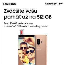 Získajte až do 160 € za váš starý telefón k novému smartfónu Samsung