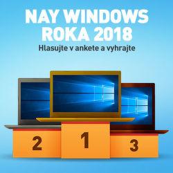 Hlasujte za NAY Windows roka 2018 a vyhrajte!