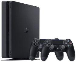 Sony PlayStation 4 Slim 1TB + 2x ovládač DualShock 4 v2