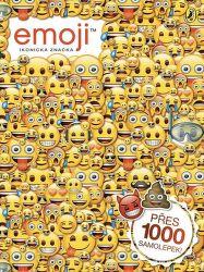 Emoji oficiální kniha samolepek