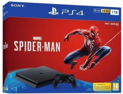 Sony PlayStation 4 Slim 1TB + Spider-Man