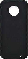 Mobilnet gumené puzdro pre Motorola Moto G6 Plus , čierna