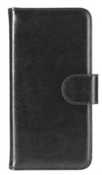 Xqisit Wallet Eman puzdro pre iPhone 8/7/6S/6, čierna