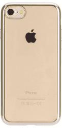 Xqisit Flex Case Chromed Edge puzdro pre iPhone 8/7/6S/6, zlatá
