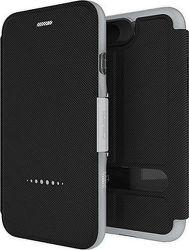 Gear4 Oxford ochranné puzdro pre Apple iPhone 8/7, strieborná