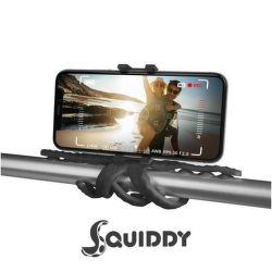 Celly Squiddy čierny, flexibilný držiak