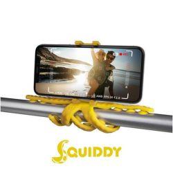 Celly Squiddy žltý, flexibilný držiak