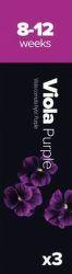 Plantui Viola Fialka Sirôtka rohatá purpurová (3ks)