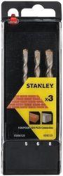 Stanley STA56012 SDS+ sada vrtákov 3ks