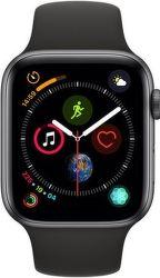 Apple Watch Series 4 44mm vesmírne šedý hliník/čierny športový remienok
