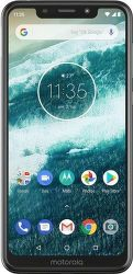 Motorola One biely