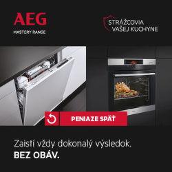 Cashback až do 80 € na kuchynské spotrebiče AEG