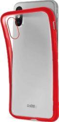 SBS silikónové puzdro pre Apple iPhone Xs Max, červená